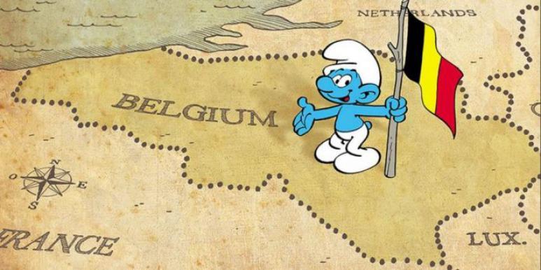 Schtroumpf Belgique
